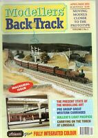 MODELLERS BACK TRACK MAGAZINE APRIL/MAY 1991 VG CLEAN COND