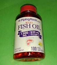 Aceite Pescado 1300 mg Omega 3 100 miniperlas Piping Rock