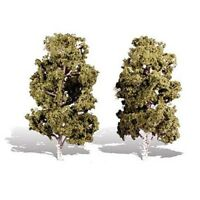 8in.-9in. Waters Edge - Pack of 2 - OO/HO trees Woodland Scenics TR3539