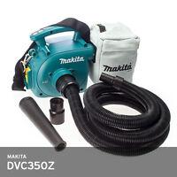 Makita DVC350Z 18V Cordless Vacuum Cleaner 4.9lb Dust Bag 3 Liter **Body Only**