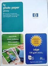 Hewlett Packard Foto-Papier glänzend, Photo Paper Glossy 175g, 20 Blatt, C1847A