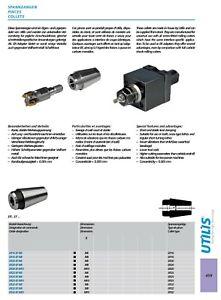 Utilis ER 16 20 25 32 threaded shank M6 M8 M10 collet adaptor Citizen Star etc