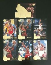 Assorted 1995/96 Upper Deck Jordan Collection Michael Jordan Lot x 7