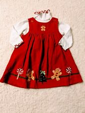 Baby Girls 24 Months Good Lad Red  Holiday Christmas Dress