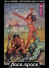 (WK51) DEJAH THORIS VS JOHN CARTER OF MARS #6B - LINSNER - PREORDER DEC 22ND