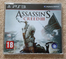 not for resale . promo only . press édition / Assassin's Creed 3  PS3