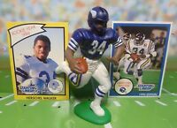1990 HERSCHEL WALKER Starting Lineup Football Figure & 2 Cards MINNESOTA VIKINGS