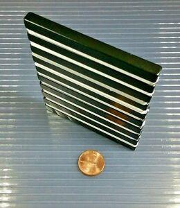 10 Neodymium Bar Block Magnet Strong Rare Earth N42H High Heat Grade 3 x 1/4