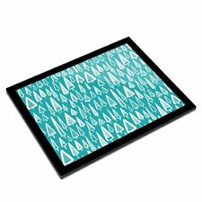 A3 Glass Frame - Pretty Blue Forest Trees Art Gift #3882