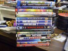 (17) Childrens Adventure DVD Lot: E.T. (3) Disney Avatar Monster House LEGO MORE