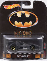 2017 Retro Entertainment Batmobile Keaton 1:64 Hot Wheels DMC55-956A