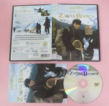 DVD film ZANNA BIANCA un piccolo grande lupo WALT DISNEY Z3-DV 5167 no vhs (D9)