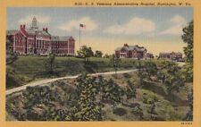 Postcard US Veterans Administrative Hospital Huntington West Virginia W VA