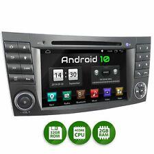 Autoradio mit Android 10 32gb passend für Mercedes W211 W219 W463 Navi Wlan
