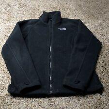 Women's North Face Khumbu Full Zip Fleece Black Jacket Small