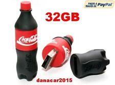 PEN DRIVE PENDRIVE DE UNA BOTELLA DE COCA COLA 32GB 32 GB MEMORIA USB(4 8 16 64)