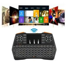 New Mini i8plus USB2.0 Wireless Backlight Keyboard with Touchpad for Computer TV