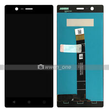 5'' New Black Nokia 3 LCD Display Touch Screen Digitizer Assembly Replacement