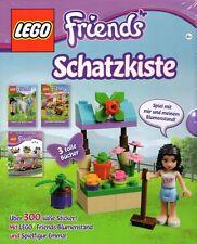 LEGO 5004293-Friends Schatzkiste-Emma mit Blumestand-Lesebücher-300 Sticker-neu
