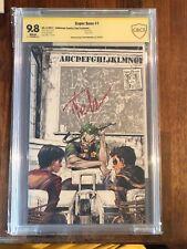 Super Sons #1 Signed By Tyler Kirkman Joker Cover Virgin Cover CBCS 9.8