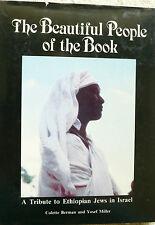 BEAUTIFUL PEOPLE OF THE BOOK Berman 1988 FIRST EDITION HCDJ Ethiopian Jews PICS
