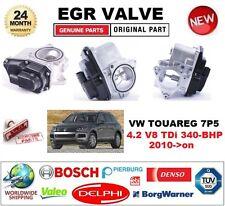 FOR VW TOUAREG 7P5 4.2 V8 TDi 340-BHP 2010-on Electric EGR VALVE 5-PIN OVAL PLUG