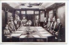 CP Militaria - Guerre 14-18 - Signature de l'Armistice le 11 Novembre 1918
