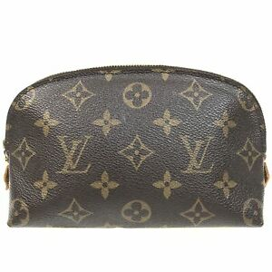 100% authentic Louis Vuitton Pochette Cosmetic Pouch M47515 [Used] {04-0102}