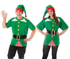 Jolly Christmas Elf Unisex Costume Kit - One Size Fancy Dress