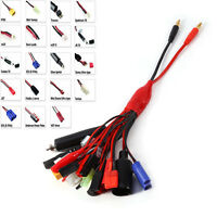 19in1 RC Battery Charger Multi Charging Lead Adapter Cable 19 Different Plugs a
