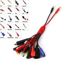 19in1 RC Battery Charger Multi Charging Lead Adapter Cable 19 Different Plugs b