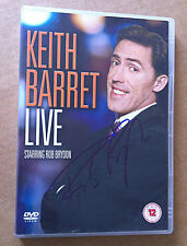 ROB BRYDON SIGNED Stand Up Show DVD 'Keith Barrett Live'
