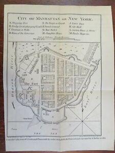 Southern Manhattan City Hall Battery New York City plan 1861 Hayward Bellin map