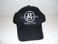 Garth Brooks World Tour Black Hat Cap Nice