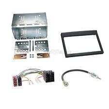 Porsche Boxster 986 02-04 2-DIN Autoradio Einbauset Adapter Kabel Radioblende