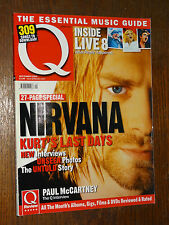 Q n°230 - SEPTEMBER 2005 - 27-PAGE SPECIAL NIRVANA