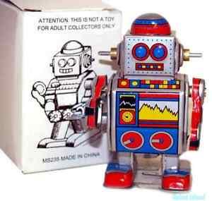 Droid Robot Tin Toy Windup - Closeout SALE!