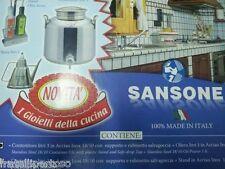 CONTENITORE OLIO 3LT INOX + OLIERA 1LT INOX, SANSONE IL GIOIELLO DELLA CUCINA,