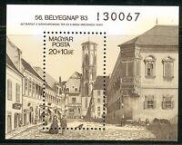 HUNGARY-1983.Souv.Sheet - 56th Stampday ( Art,Egraving by Alt)  MNH!! Mi Bl.166