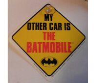 Panneau Batman de signalisation pour voiture My other car is the Batmobile sign