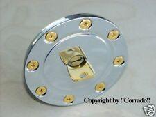 >vergoldet< DTM Tankdeckel-Schrauben_Golf 1,2,3 VR6,GTI Polo Corrado >gold<