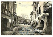 CPA 26 Drôme Buis-les-Baronnies Place du Marché