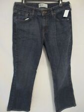 Levi's Cotton Blnd Misses Short 12 Mid Rise Boot Cut Dark Rinse Jeans