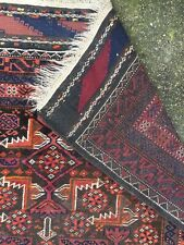 Old Rug Baluch Relief Salor Khani Roomsize 1930s Antik Teppich Afghan Sistan