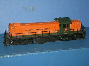 Ho Alco Brass: New Haven RS-1 Diesel. Runs, needs reassembly of body on chassis