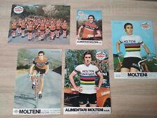 Eddy Merckx Molteni Team Original Cards Campagnolo Vintage