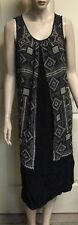 Viscose Shift Hand-wash Only Geometric Dresses for Women