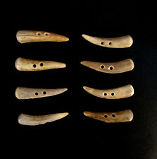 "ANTLER BUTTONS,2"" TOGGLES,TINES,SHEARLING COATS,CRAFTS,8 CURVED PIECES,200-44"