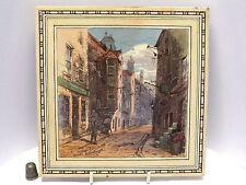 "Splendidamente colorate 8"" Minton piastrelle del Cardinale beatons House da T. swetnam 1885"