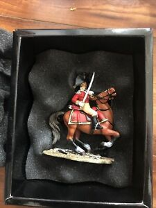 1/30 King & Country Napoleonic British Mounted Officer NA10